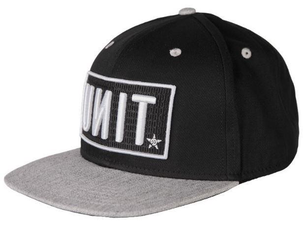 UNIT - RESET 152 SNAPBACK CAP BLACK ONE SIZE