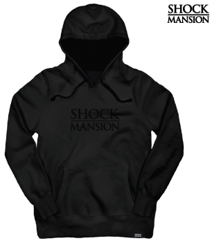 SHOCK MANSION - ESTATE HOODIE BLACK