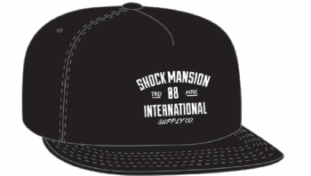 SHOCK MANSION - SUPPLY CO SNAPBACK BLACK ONE SIZE