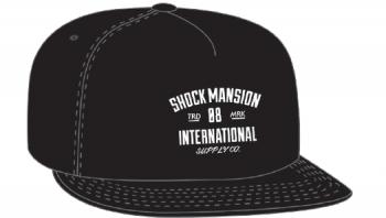 SHOCK MANSION - SUPPLY CO SNAPBACK BLACK