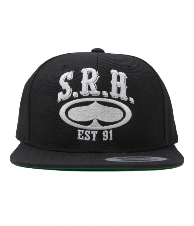 SRH - ROCKER SNAPBACK HAT BLACK