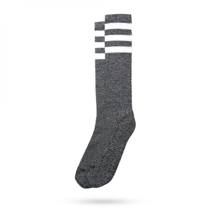 AMERICAN SOCKS - WHITE NOISE KNEE HIGH ONE SIZE