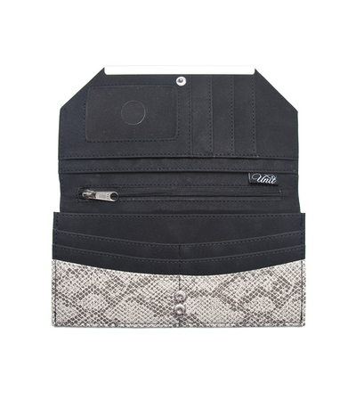 Black Dc Shoe Fabric Wallet