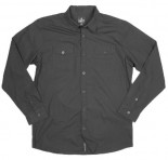 UNIT - EXEMPTION L/S SHIRT BLACK