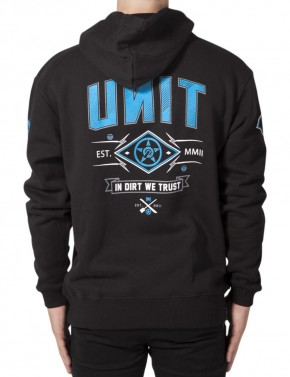 UNIT - PULSE HOODIE BLACK