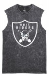 UNIT - RIDERS MUSCLE TEE BLACK