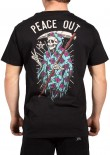 UNIT - PEACE OUT TEE BLACK