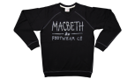 MACBETH - SCRIBBLE FLEECE PULLOVER BLACK