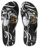 UNIT - SLADE LADIES FLIP FLOP BLACK