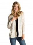 ROXY - MOVE ON UP CARDIGAN WHITE