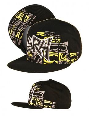 SRH - Slant 3 Hat Black