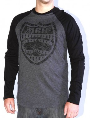 SRH - OPEN ROAD L/S RAGLAN BLACK