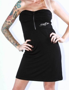 SRH - EXPOSED LINE DRESS BLACK