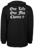 UNIT - ONE CHANCE HOODY BLACK