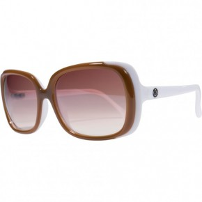 FILTRATE - GEMINI CARAMEL WHITE GLOSS/ GREY LENS