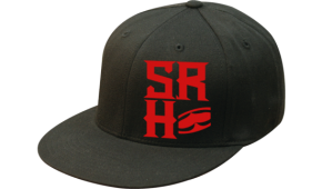 SRH - FOUNDATION FLATBILL FLEXFIT HAT BLACK