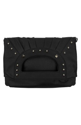 UNIT - ALLUDE SHOULDER BAG BLACK
