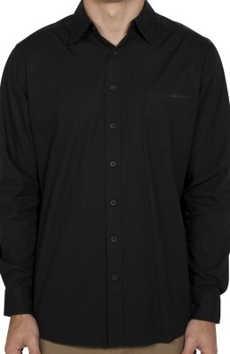 UNIT - WARRIOR LONG SLEEVE SHIRT BLACK