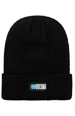 UNIT - WHARFY BEANIE BLACK