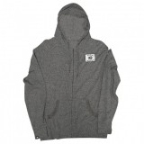 FILTRATE - BRAVE PATCH HOODIE CHAR/BLK