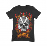 SICKRET - BARMETAL COLLAB MEN TEE BLACK