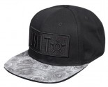 UNIT - LADIES CAP SCARLET BLACK