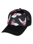 ROXY - WAVES MACHINES TRUCKER CAP BLACK