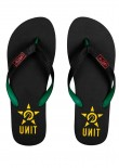 UNIT - BASE FLIP FLOPS BLACK/RASTA