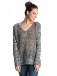 ROXY - A THREE HOUR TOUR SWEATER BLACK