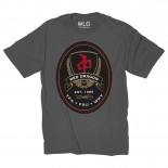 RED DRAGON - FAKE LABELS TEE CHARCOAL
