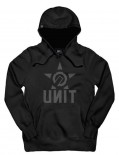 UNIT - CRANK HOODY BLACK