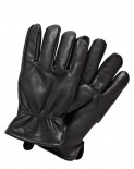 DICKIES - MEMPHIS LEATHER GLOVES BLACK