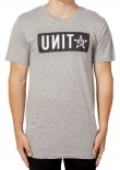 UNIT - BLOCKADE TEE GREY MARLE