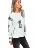 ROXY - PUERTO ADVENTURE SWEATSHIRT PINEAPPLE