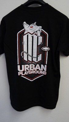 MINDCOLLISION - URBAN PLAYGROUND MENS TEE  BLACK