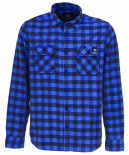 DICKIES - ROCK HALL FLANNEL BLUE