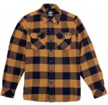 DICKIES - SACRAMENTO FLANNEL BROWN DUCK