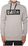 UNIT - BLOCKADE PULLOVER GREY MARLE