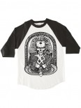 RED DRAGON - PHARAOH BANGER 3/4 RAGLAN WHITE/BLACK