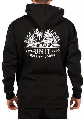 UNIT - PARADISE HOODIE BLACK