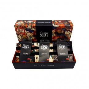 AMERICAN SOCKS - JAPAN HERITAGE GIFT BOX