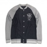 MACBETH - AMERICAN BASEBALL JACKET H.GREY