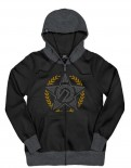 UNIT - SHOWDOWN HOODY BLACK
