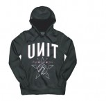 UNIT - DETROIT PULLOVER HOOD BLACK