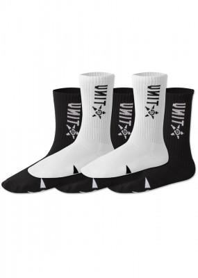 UNIT - HI LUX SOCKS 5 PACK MULTI