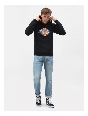 DICKIES - SAN ANTONIO HOODY BLACK