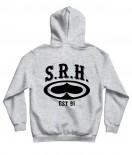 SRH - ROCKER PULLOVER GREY