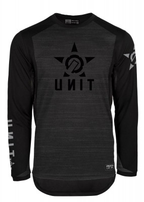 UNIT - LEAD MX JERSEY SPACE DYE BLACK