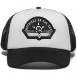 UNIT - FLIGHT TRUCKER CAP WHITE