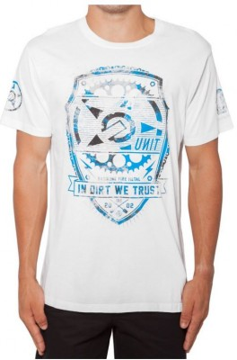 UNIT - ALLIANCE TEE WHITE